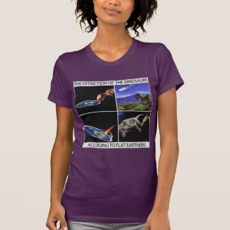 The Extinction of the Dinosaurs - Women's Edition T-Shirt