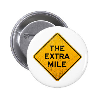 The Extra Mile 2 Inch Round Button