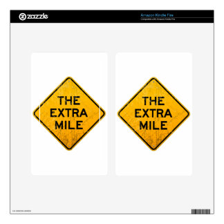 The Extra Mile Skins For Kindle Fire