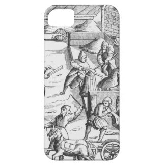 The extraction of metals, after a woodcut in 'Cosm iPhone SE/5/5s Case