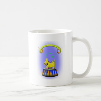 the extraordinary human footed scottie dog coffee mug