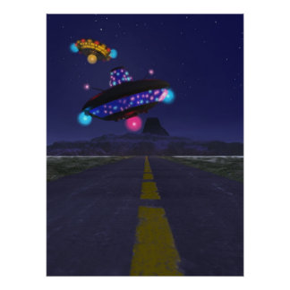 The Extraterestrial Highway Print