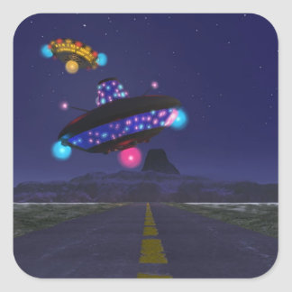 The Extraterestrial Highway Sticker