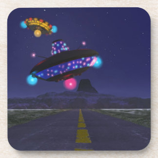 The Extraterrestrial Highway Drink Coaster