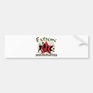 The Extreme Multiplayer Bumper Sticker
