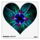 The Eye Abstract Art Heart Wall Decal