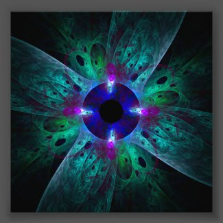 The Eye Abstract Art Photo Print