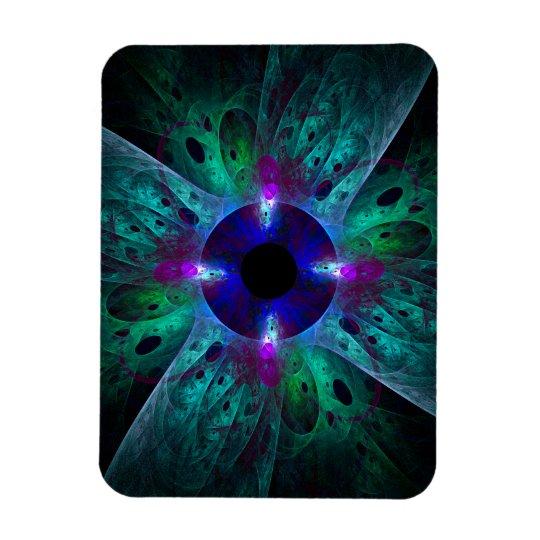 The Eye Abstract Art Premium Magnet