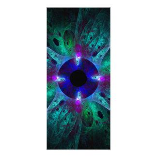 The Eye Abstract Art Rack Card