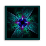 The Eye Abstract Art Square Envelope