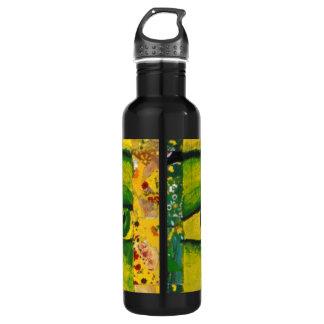 The Eye - Gold & Emerald Awareness 24oz Water Bottle