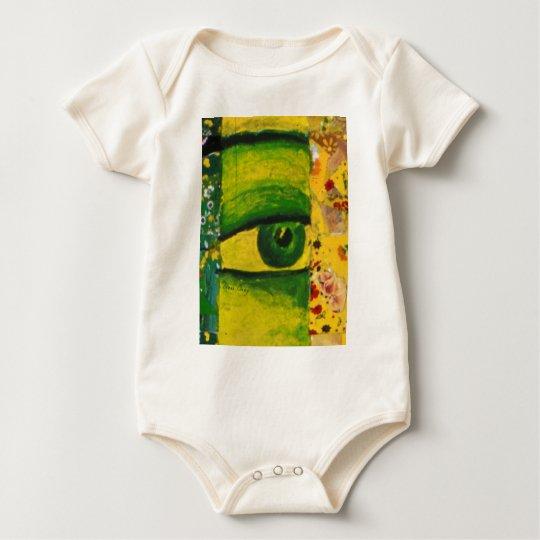 The Eye - Gold & Emerald Awareness Baby Bodysuit