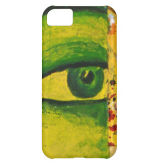 The Eye - Gold & Emerald Awareness Barely There II iPhone 5C Cover