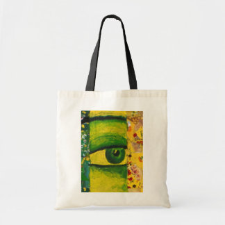 The Eye - Gold & Emerald Awareness Budget Tote Tote Bag