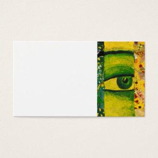 The Eye - Gold & Emerald Awareness Business Card