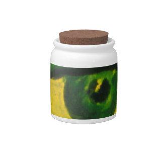 The Eye - Gold & Emerald Awareness Candy Jar