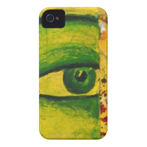 The Eye - Gold & Emerald Awareness Case-Mate iPhone 4 Case