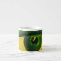 The Eye - Gold & Emerald Awareness Espresso Espresso Cup