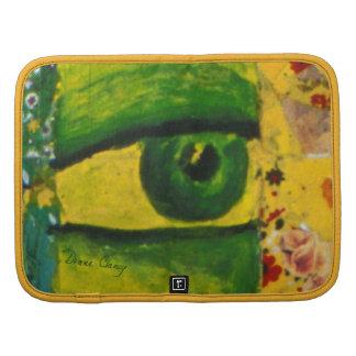 The Eye - Gold & Emerald Awareness Folio Planners