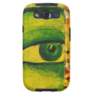 The Eye - Gold & Emerald Awareness Galaxy S3 Cover
