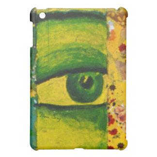The Eye - Gold & Emerald Awareness  iPad Mini Case