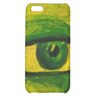 The Eye - Gold & Emerald Awareness iPhone 4/4S iPhone 5C Case