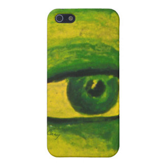 The Eye - Gold & Emerald Awareness iPhone 4/4S Cover For iPhone 5