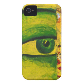 The Eye - Gold & Emerald Awareness iPhone 4 Cover