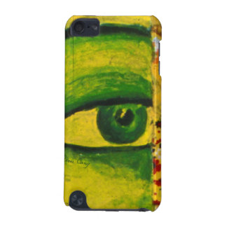The Eye - Gold & Emerald Awareness iPod Touch iPod Touch 5G Cover