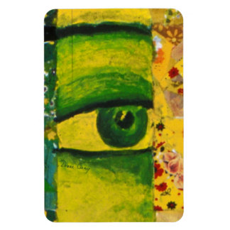 The Eye - Gold & Emerald Awareness Photo Magnet