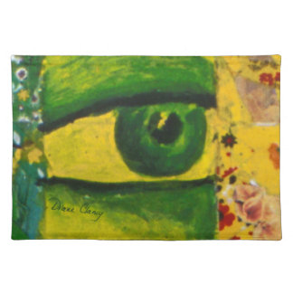 The Eye - Gold & Emerald Awareness Placemats