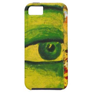 The Eye - Gold & Emerald Awareness Tough iPhone 5 Covers