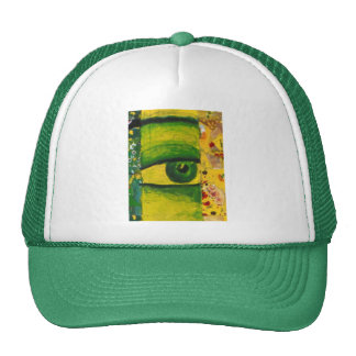 The Eye - Gold & Emerald Awareness Trucker Hat