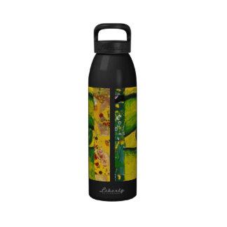 The Eye - Gold & Emerald Awareness Water Bottle