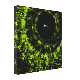 The eye is always watching canvas print