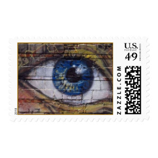 The eye looks - stamps