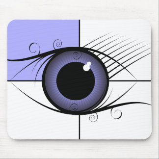 The eye mouse pad