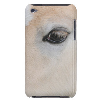 The eye of a Haflinger Rare Breed Pony iPod Touch Case-Mate Case