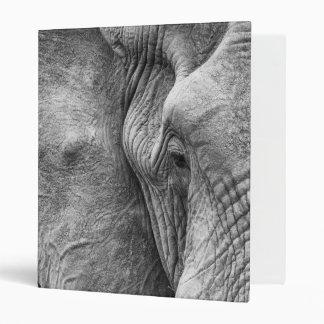 The eye of an elephant binder