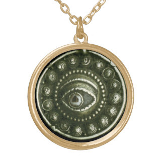 THE EYE OF BUDDHA GOLD PLATED NECKLACE