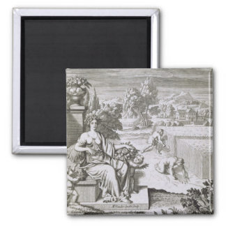 The Eye of God Watches the Harvest, illustration f Magnet