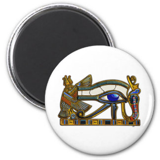 The Eye of Horus 2 Inch Round Magnet