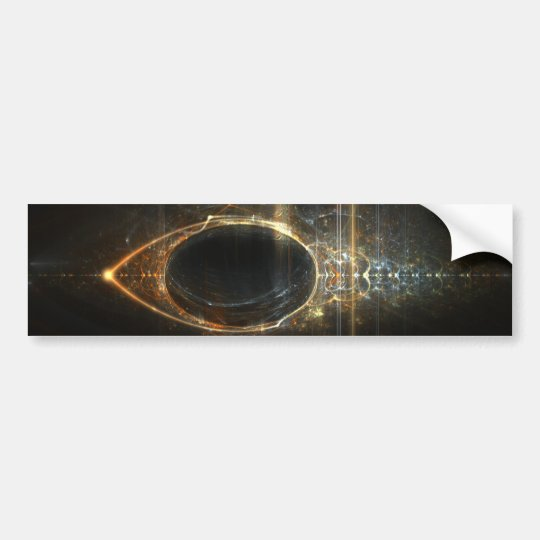 The Eye of Horus Bumper Sticker