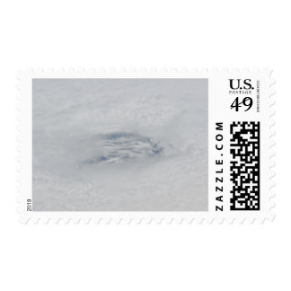 The eye of Hurricane BIll Postage Stamps