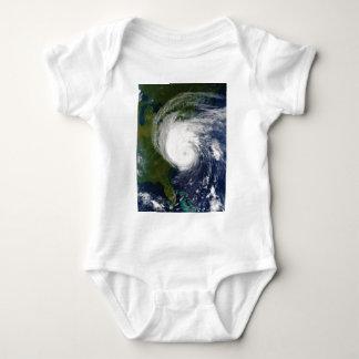 The Eye of Hurricane Isabel September 18 2003 Baby Bodysuit