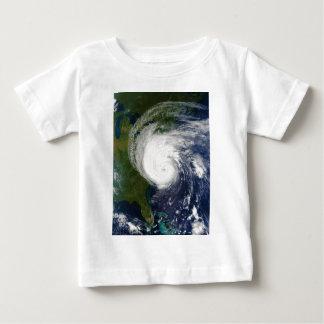 The Eye of Hurricane Isabel September 18 2003 Baby T-Shirt