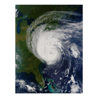 The Eye of Hurricane Isabel September 18 2003 Poster