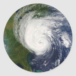 The Eye of Hurricane Isabel September 18 2003 Stickers