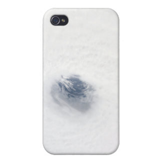 The eye of Hurricane Rita iPhone 4 Case