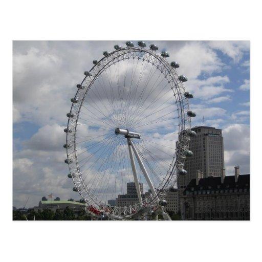 The eye of London Postcard